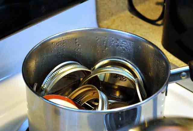 Boiling lids and rings
